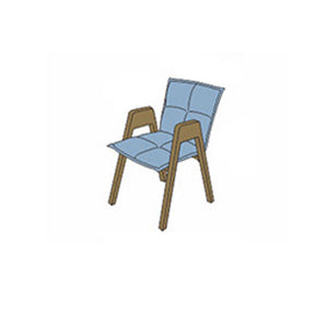 NORYA Dining Chair (0.5m) in German White Oak X6Z59-Q