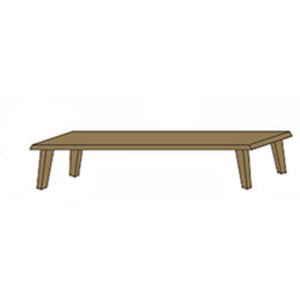 NORYA Bench (1.8m) in German White Oak XBD04