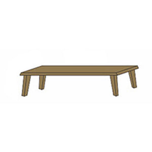 NORYA Bench (1.5m) in German White Oak XBD06