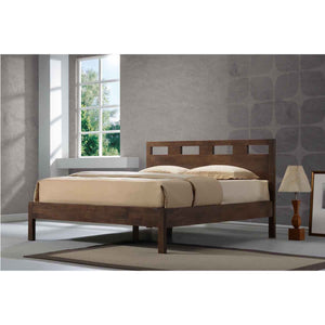 ASHTON Solid Wood Queen Bed - Picket&Rail Singapore's Premium Furniture Retailer