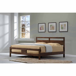 NEW JERSEY Solid Wood Queen Bed
