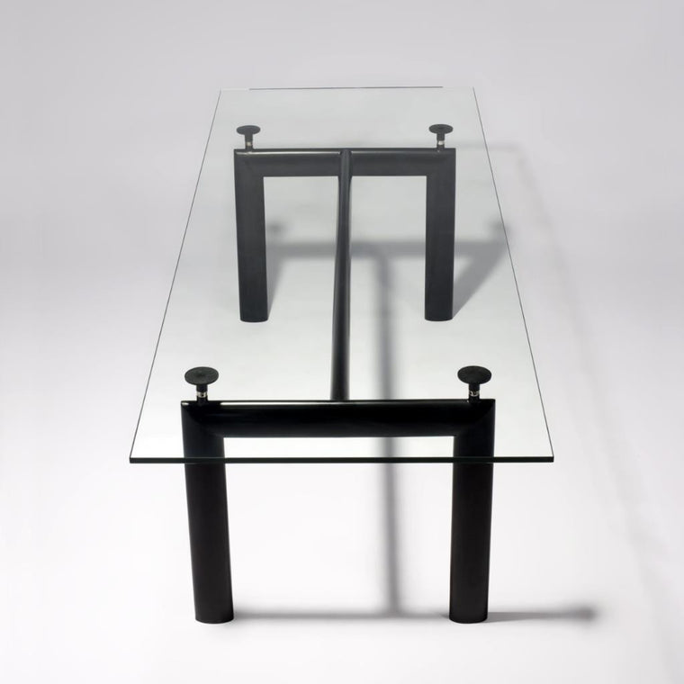 Kenis Glasstop Dining Table - DT5076 - Picket&Rail Singapore's Premium Furniture Retailer