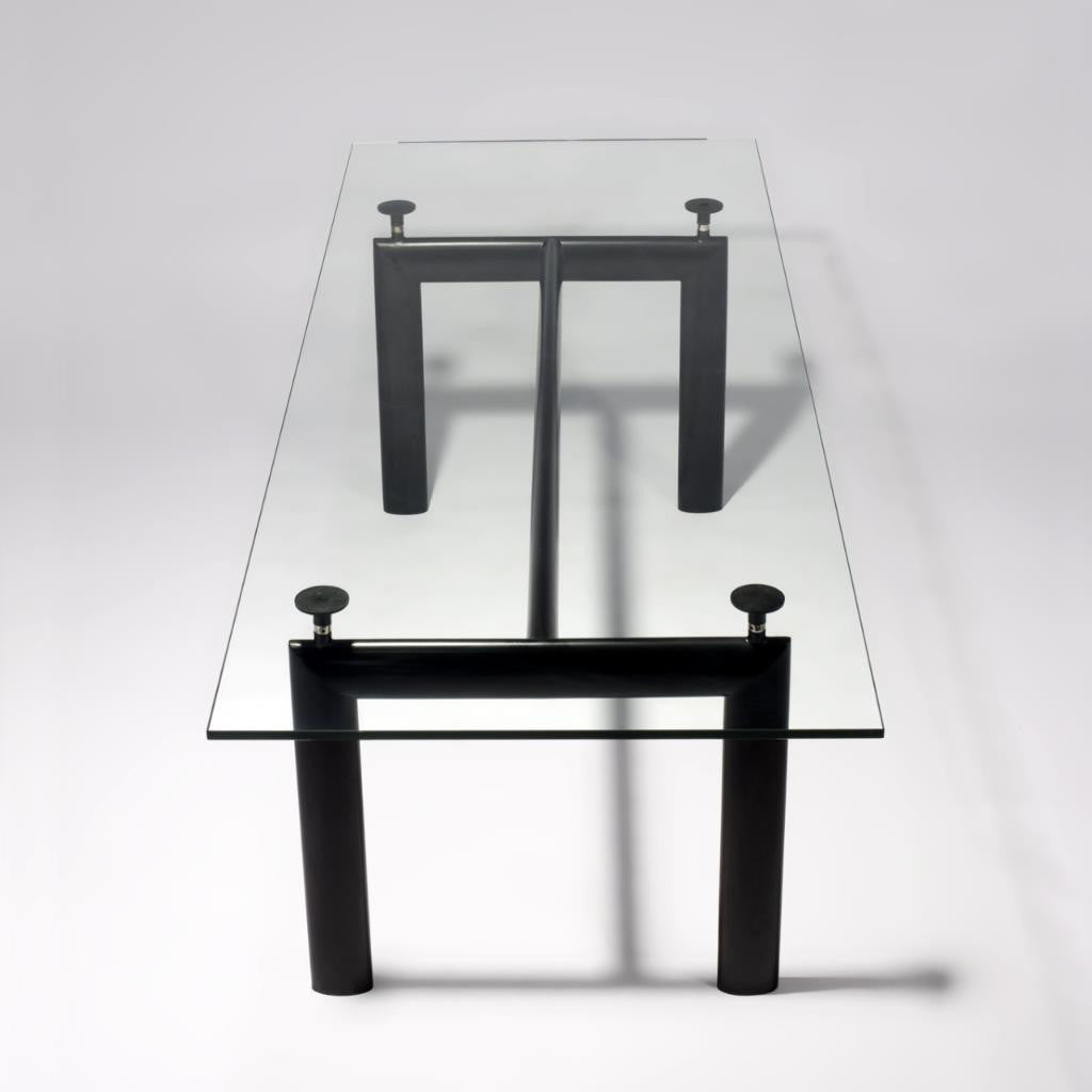 Kenis Glasstop Dining Table - DT5076 - Picket&Rail Singapore's Premium Furniture Retailer - 1