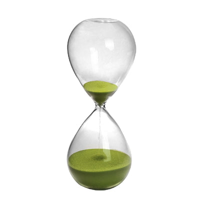 AB-DT75523-LIME  Hour Glass ( Approx. 15Min.)
