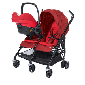 Maxi-Cosi Dana For2 Stroller - Vivid Red (0m-3.5y) (0-15kg)