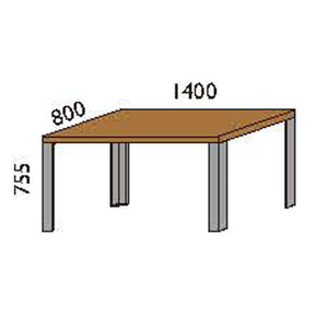 NORYA Dining Table (1.4m) in American Black Walnut KAZTL03A