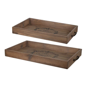 Decorative Tray Set Of 2 (AB-FD40728)