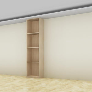 InstaQuote® - Full-Height Open Shelves Cabinet