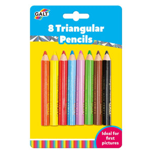 Galt 8 Triangular Pencils