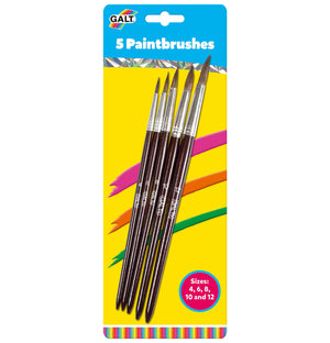 5 Paintbrushes - Galt