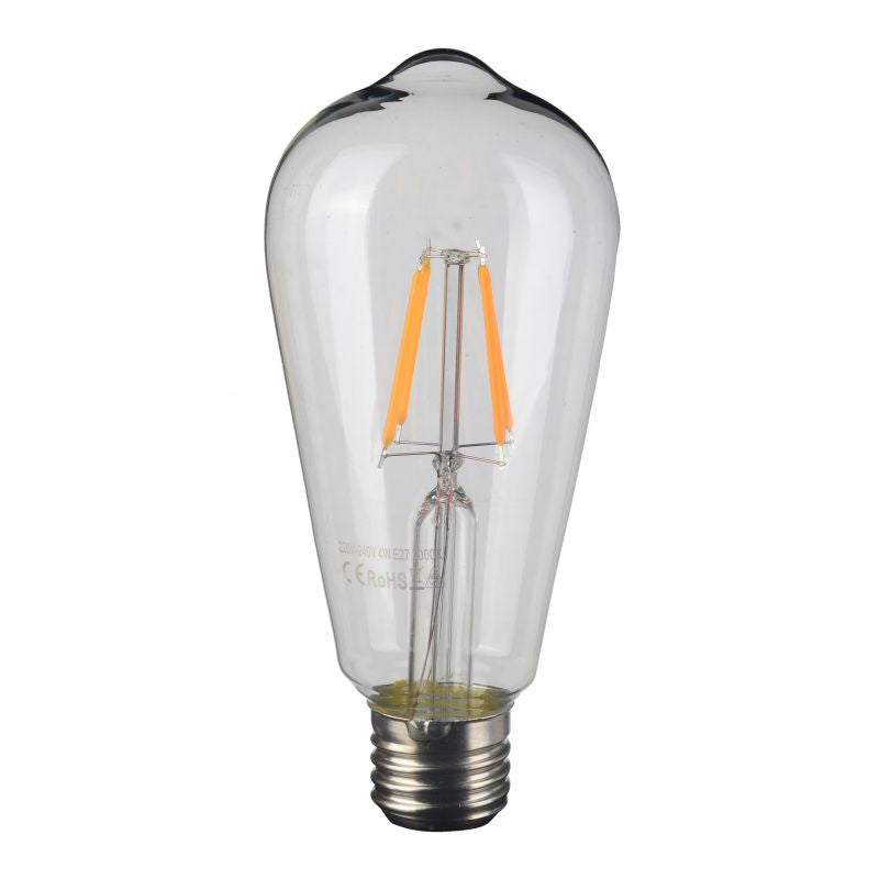 Filament LED Light Bulb for Decorative Lamps (HP75845CE-CLEAR)