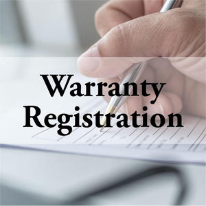 Registration Warranty - Baby Products