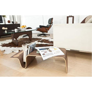 MAG Low Breakfast Table in American Walnut Bent Plywood Veneer (MCS-CT8306-WAL)