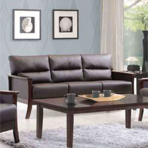 Davis Leather 3-Seater Sofa - Picket&Rail Singapore's Premium Furniture Retailer