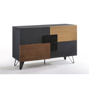 Solid Wood Blend Sideboard (BH-521) - Picket&Rail Singapore's Premium Furniture Retailer