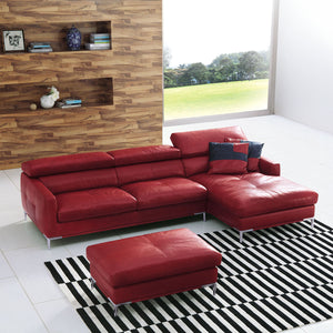 KUKA #1281 Leather Sofa (1/2/2.5/3-Seater, Chaise Lounge, Ottoman) - Picket&Rail Singapore's Premium Furniture Retailer