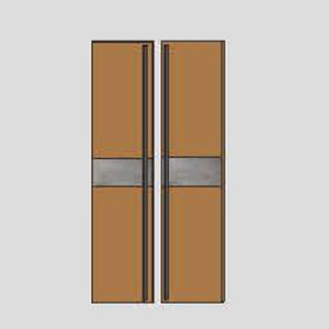 NORYA Door in American Black Walnut K742-A2