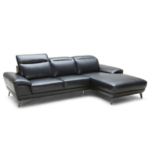 KUKA #5186 Leather L-Shaped Sofa - Picket&Rail Singapore's Premium Furniture Retailer