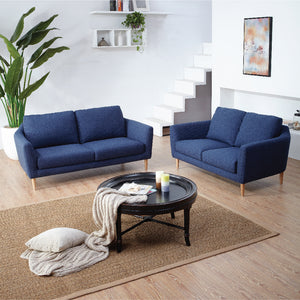 KUKA #2537 Fabric Sofa (3-Seater, Color: C-1075) - Picket&Rail Singapore's Premium Furniture Retailer
