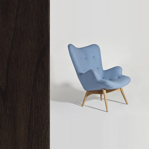 Lynelle Lounge Chair (Walnut) - Picket&Rail Singapore's Premium Furniture Retailer