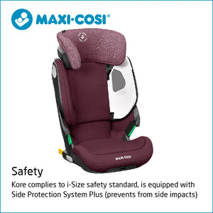 Maxi-Cosi Kore i-Size Car Seat - Authentic Red (3.5y-12y) (15-36kg) MC8740600110
