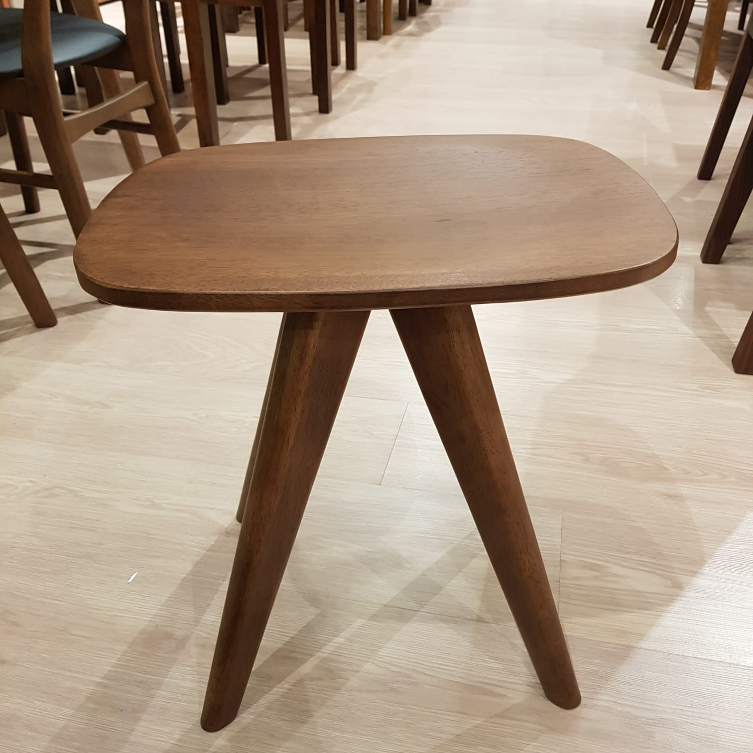 SARAH Solid Wood Stool (MI-341) - Picket&Rail