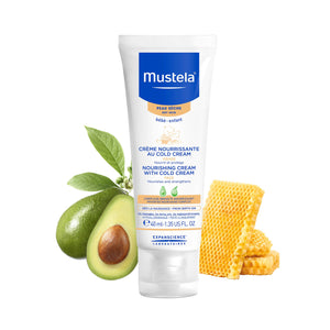 Mustela Nourishing Face Cream with Cold Cream 40ml MD-NCCC