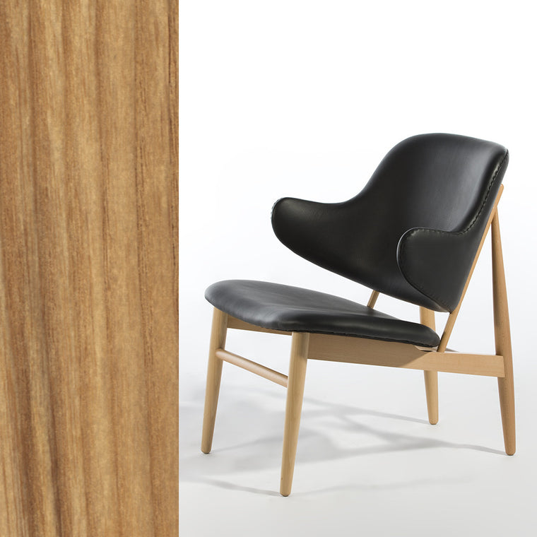 Napoli Lounge Chair (Walnut) - CH7282 - Picket&Rail Singapore's Premium Furniture Retailer