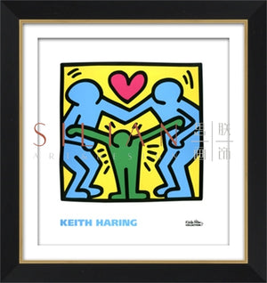 Abstract by Keith Haring (PT1223-1) - Picket&Rail Singapore's Premium Furniture Retailer