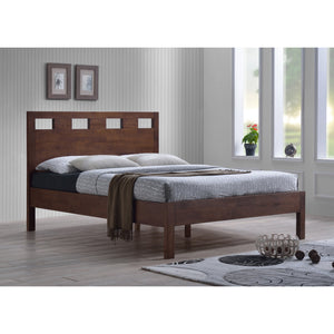 ASHTON Solid Wood King Bed