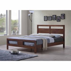 NEW JERSEY Solid Wood Queen Bed - Picket&Rail