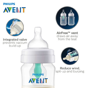 Philips Avent 260ml Anti Colic PP Bottle with Airfree Vent SCF813/14 - Picket&Rail