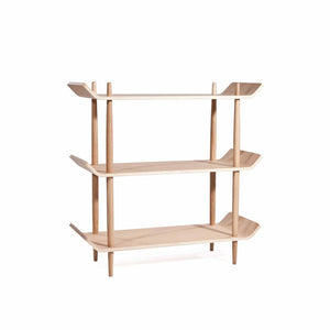 BENTWOOD 0.9m Shelf in American White Oak by Sean DIX (MCS-SD9133B-OAK)