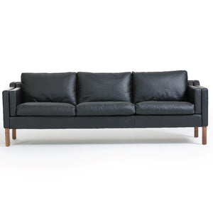 Justina 3-Seater Leather Sofa (SF18204C) - Picket&Rail Singapore's Premium Furniture Retailer