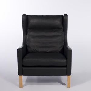 Christine Highback Lounge Chair (Walnut) - Picket&Rail Singapore's Premium Furniture Retailer
