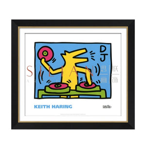 Abstract by Keith Haring (PT1224-2) - Picket&Rail Singapore's Premium Furniture Retailer