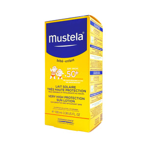 Mustela SPF50+ Very High Protection Sun Lotion 100ml (Water Resistant) MN-SPF50SPL100