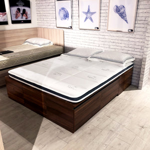 真珠 SHINJU Tatami Air-Gel Memory Foam Anti-Microbial Mattress