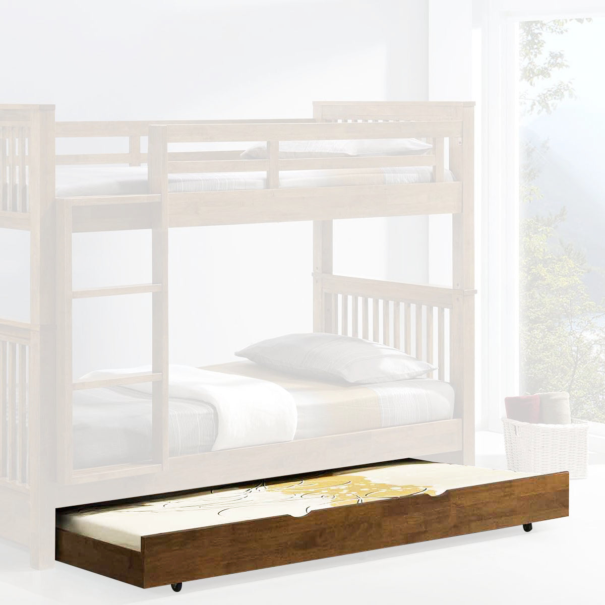 All Solid Wood Bunk Beds w/ Anti-Microbial Properties