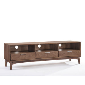 Barbara TV Cabinet (Walnut) - Picket&Rail Singapore's Premium Furniture Retailer