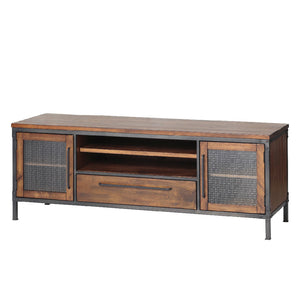 Chicago 1 Drawer 2 Door TV Entertainment Unit - Picket&Rail Singapore's Premium Furniture Retailer