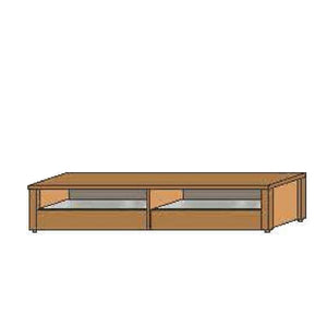NORYA 2.2m TV Cabinet in American Black Walnut (KAMT05A)