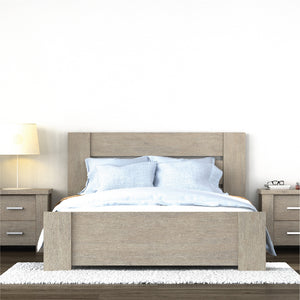 AERONA Solid Wood King Bed