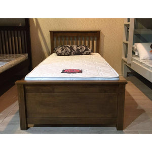 AMERICANA Solid Wood Super Single Bed - Picket&Rail Singapore's Premium Furniture Retailer