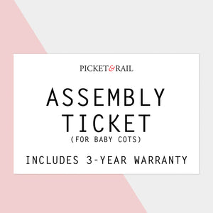 $80 Cot Assembly Ticket