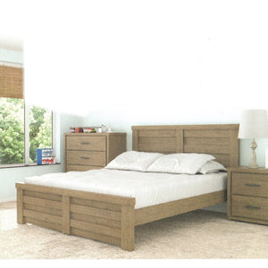 AVERY Solid Wood King Bed