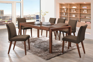 Brandon 1.2m Extendable Dining Table + 4/6 Brandon Chairs - Picket&Rail Singapore's Premium Furniture Retailer