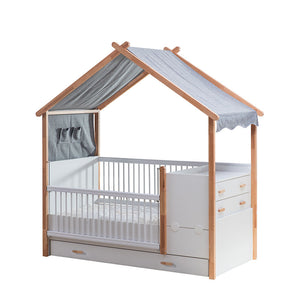 CASTLE Kids Extendable Grow Baby Bed (MH-1292)