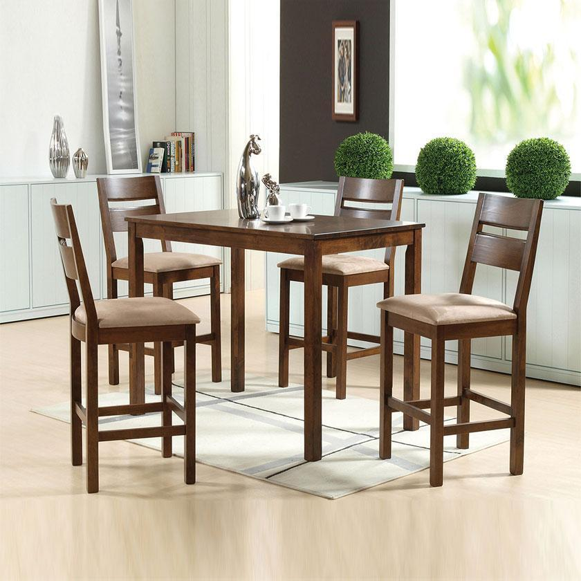Envy Solid Wood Pub Set (5-piece) - Picket&Rail Singapore's Premium Furniture Retailer