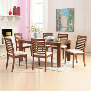 Hancock Solid Wood 7-piece Dining Set - Picket&Rail Singapore's Premium Furniture Retailer